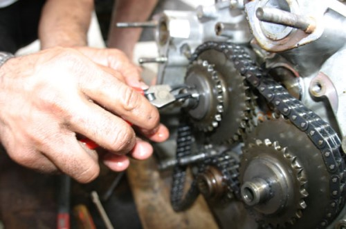 Timing Chain removal